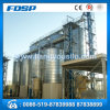 Corrugated Galvanized Steel Flat Bottom Silo with Sweep Auger