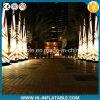 De hete Decoratie die van de Partij van de Verkoop Opblaasbare Pijlers met LEIDEN Licht voor Verkoop afdrukken