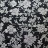 Tela lisa do algodão para os fatos com a flor impressa (30X30/68X68)