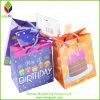 Sacs mignons personnalisés de cadeau d'anniversaire de papier d'imprimerie