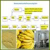 Polvere automatica piena della banana che fa macchina
