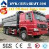 Sinotruk HOWO 6X6 판매를 위한 off-Road 무거운 덤프 트럭