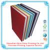 Cuaderno de cuero de la escritura del espiral del cuaderno de la PU hecho en la impresión de China