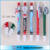 Nuovo Logo Available Barrel variopinto Ballpoint Pen con Cartoon Clip