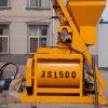 Mezclador concreto del eje horizontal doble concreto de la máquina Js1500