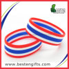 2016 браслетов/Wristband силикона флага высокого качества наслаивая резиновый