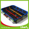 Liben New Indoor Long Trampoline con Dodgeball