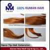 Capelli umani di punta dei capelli umani del Virgin brasiliano Nano di estensione