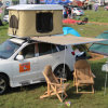 آليّة يخيّم يستعصي قشرة قذيفة سيارة أعلى خيمة سيارة سقف خيمة