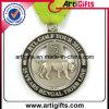 3D Soft Enamel Medal mit Retro Design