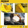 Cubeta usada em KOMATSU, gato da máquina escavadora da rocha, Hitachi, Volvo, Doosan, máquinas escavadoras do caso