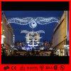 LED-Dekoration-Leuchte-Weihnachtsskulptur über Straßenlaterne