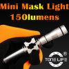 Het Duiken van het Masker van Tonelife Tl2088 het Mini Lichte Mariene Licht van het Masker van de Klem voor Scuba-duikers en Hol die voor Vrije Hand duiken