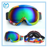 Doppi occhiali di protezione sferici del pattino di Eyewear della neve chiara dell'obiettivo del PC