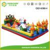 Infltable Schloss-Plättchen-Spielzeug für Childern Vergnügungspark