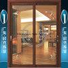 Porte s'arrêtante de offre d'aluminium d'usine de Foshan avec le double vitrage