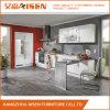 Weißer moderner Entwurf kundenspezifischer Belüftung-Membranen-Küche-Schrank