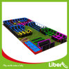 Liben Commerical Indoor Trampoline avec Dodgeball et taudis Dunk