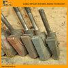 Tijolo da argila que faz as peças de maquinaria que misturam as lâminas