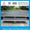 AluminiumStage mit 18mm Plywood Platform