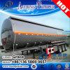 半45000L原油/ディーゼル/ガソリン燃料タンクのトレーラー、ステンレス製のタンカーのトレーラー