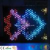 Vollkommener Stufe-Partei-Hintergrund-Dekoration-Anblick-videotuch LED