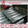 Hoja de acero acanalada galvanizada calidad primera