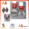 El metal modificado para requisitos particulares hace la medalla del deporte a mano del recuerdo