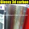 Лоснистое Automobile 3D Carbon Fiber Vinyl Film
