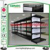 Fabrikmäßig hergestellte doppelseitige Gondel-Supermarkt-Regale für Verkauf