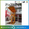 levage fixe hydraulique de véhicule de poste de l'ascenseur 4 de ciseaux du véhicule 5ton
