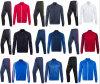 工場ブランク長い袖の秋のトレインの熱い販売のフットボールのジャケットおよびズボン