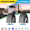 China Best Quality Truck Tyre 315/70r22.5 Blacklione Linglong Tyre