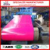 Катушка цвета Ral3002 Pppgi покрытая Prepainted гальванизированная стальная