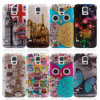 Pilha Cover para Samsung I9600 S5, PC+TPU Cover Caso New Design