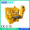 Qt40-3Aの移動式手動セメントの具体的な煉瓦作成機械