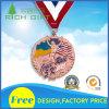 Il più nuovo ricordo rosso 3D Metals la medaglia con il nastro personalizzato