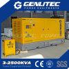 Звукоизоляционный генератор 200kVA Volvo тепловозный с ATS