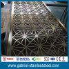 Tabique moderno caliente del metal del acero inoxidable de la decoración 304 del hogar de la venta
