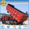 4개의 차축 8X4 덤프 트럭 40 톤 Lotty 40 T 쓰레기꾼 트럭