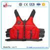 Maglia di nylon di Paddlesports della gomma piuma del PVC di colore rosso