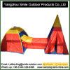 Der Portable, der anschließbare Tunnelteepee-Abdeckung faltet, scherzt Spiel-Zelt