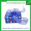 Rectángulo de empaquetado de la cinta de chocolate de caramelo del regalo de encargo del papel
