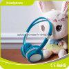 Écouteur bleu d'enfants d'écouteur de gosse de mode