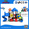 Equipamento ao ar livre plástico do campo de jogos das crianças do jardim de infância para a venda