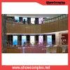 Schermo di visualizzazione fissato al muro dell'interno di Showcomplex pH2.5 LED per fare pubblicità