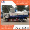 4X2 Rhd 5000liters 수용량 측 기중기 Garabge 자동 트럭