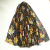 Qualitäts-Flourish gedruckter Schal Polyester 100% (H7244)