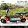 2017 la mejor vespa eléctrica 1000W Citycoco de la vespa 60V 12ah Harley del precio con la suspensión trasera delantera
