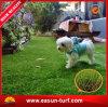 Mejor estera artificial económica del césped de la hierba del color 30m m